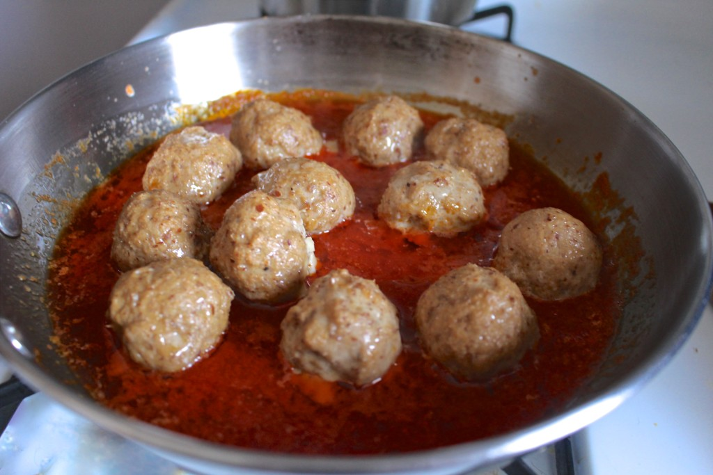 Buffalo Meatballs with Ranch - Paleo & Whole30