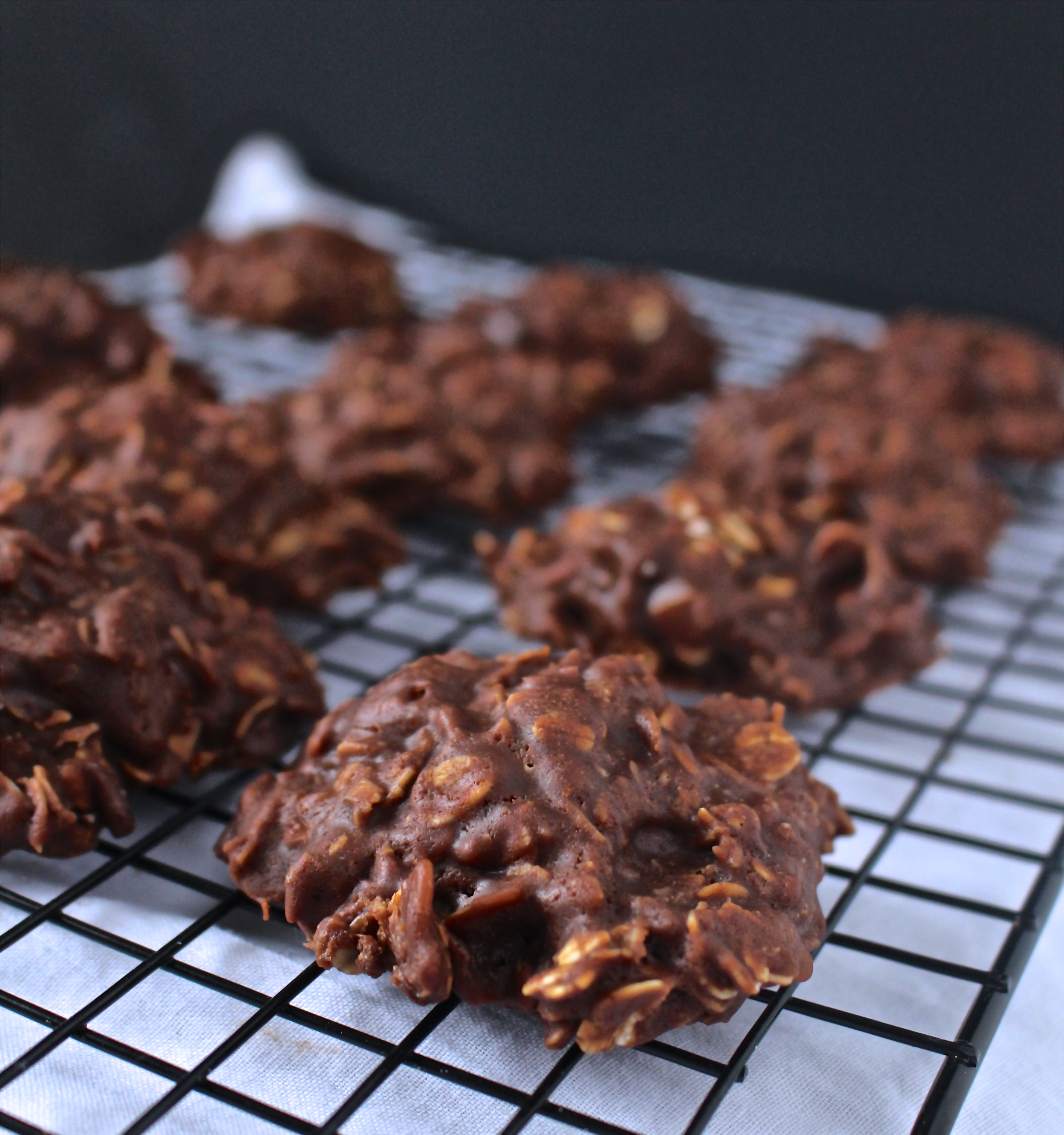 Chocolate Peanut Butter No-Bakes - Jay's Baking Me Crazy