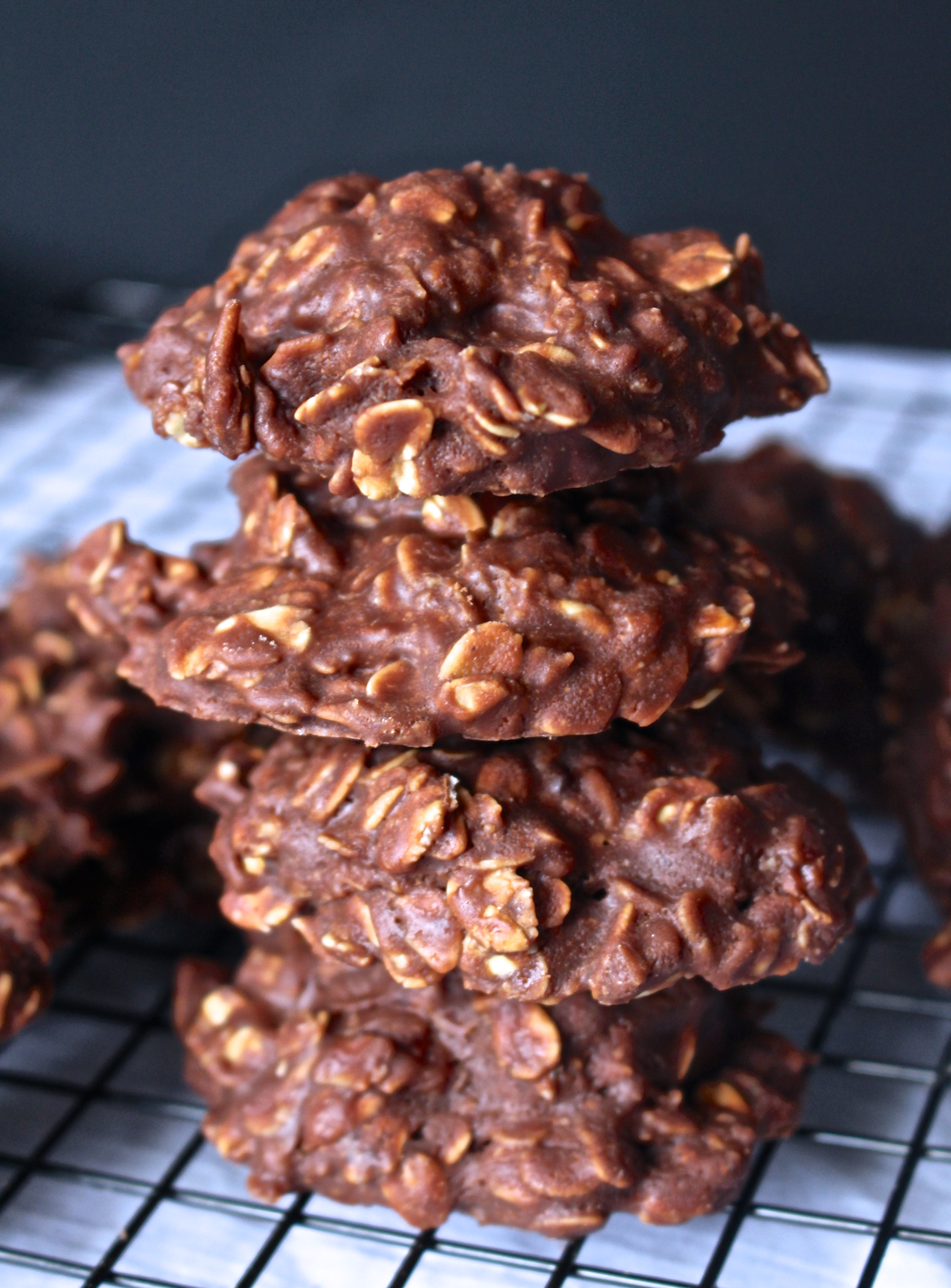 No Bake Cookies With Old Fashioned Oats And Peanut Butter