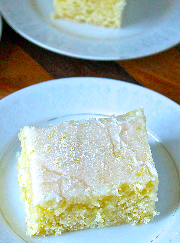 Lemon Buttermilk Sheetcake