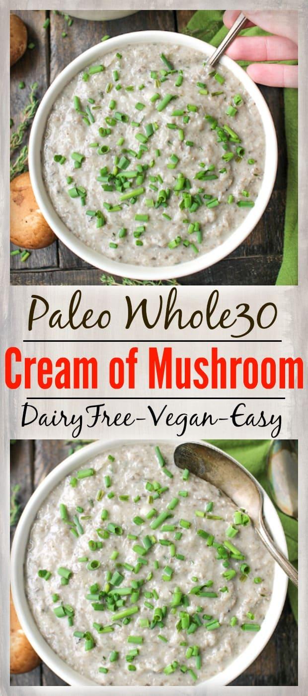 Healthy Cream of Mushroom