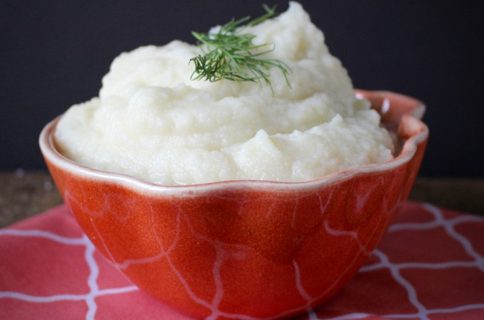 Easy Mashed Cauliflower