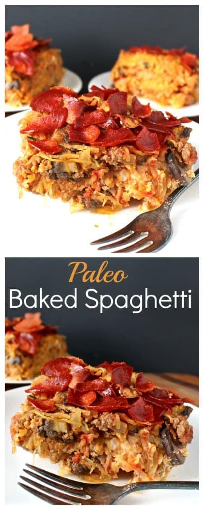 Paleo Baked Spaghetti