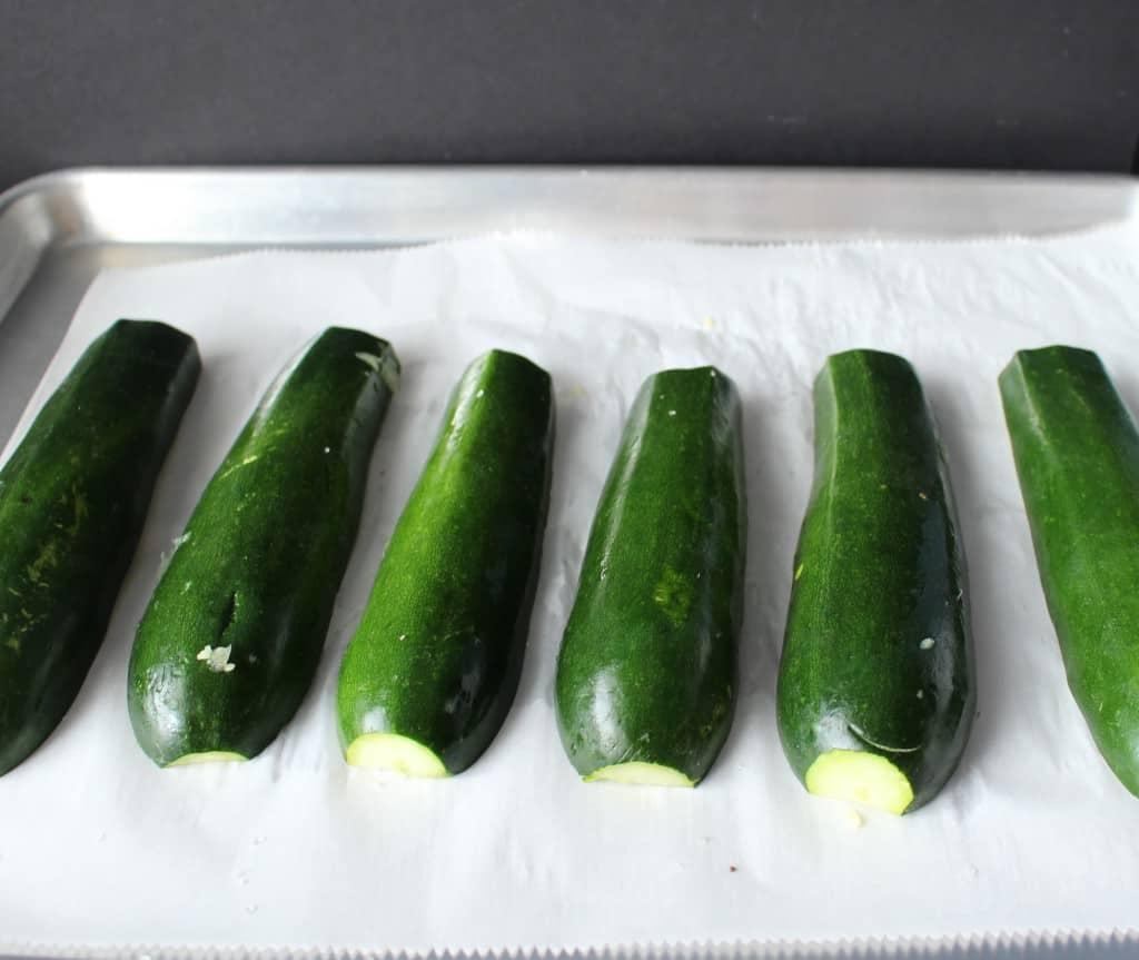 Paleo Taco Stuffed Zucchini