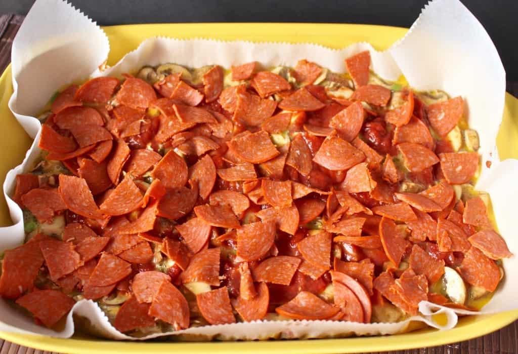 Breakfast Pizza Quiche (paleo)