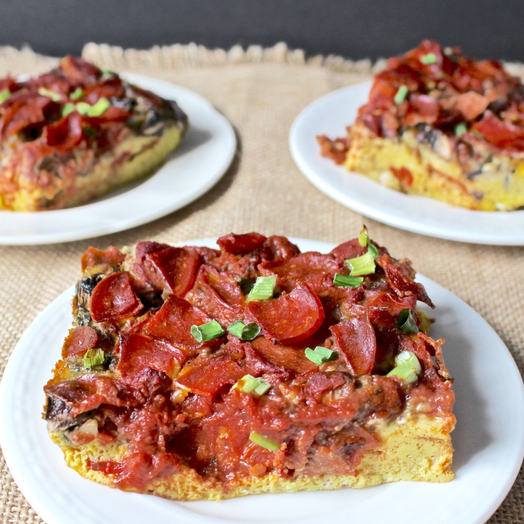 Breakfast Pizza Quiche (paleo)