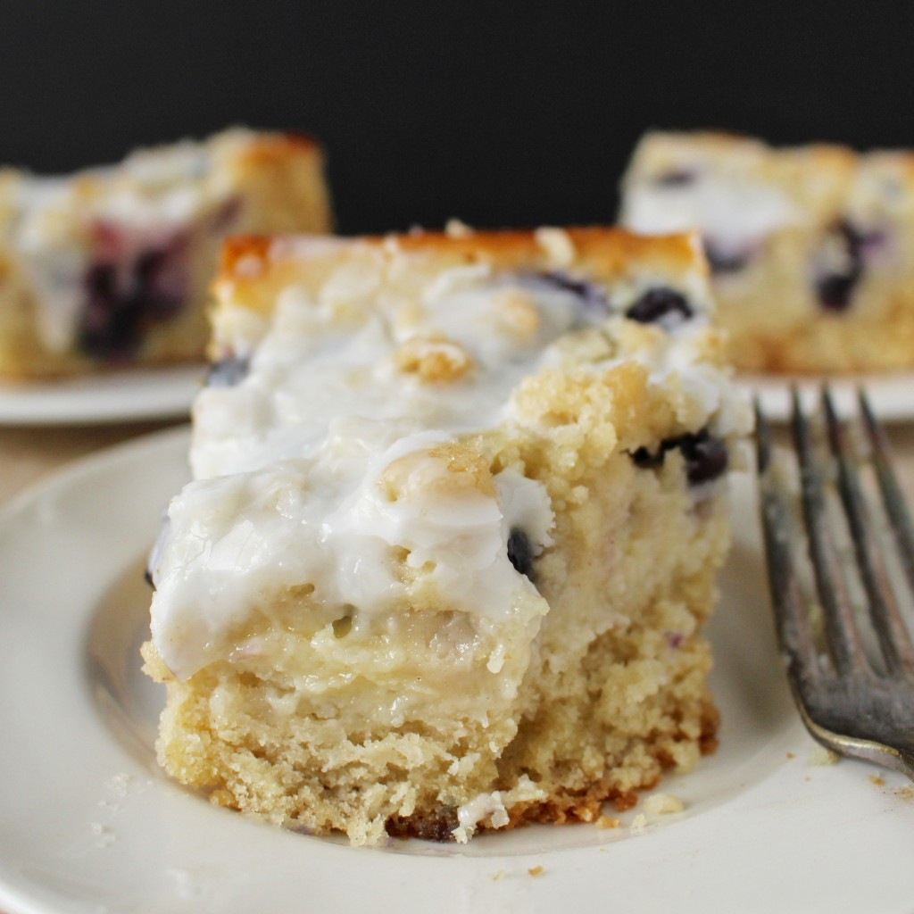 Blueberry Cream Cheese Coffee Cake