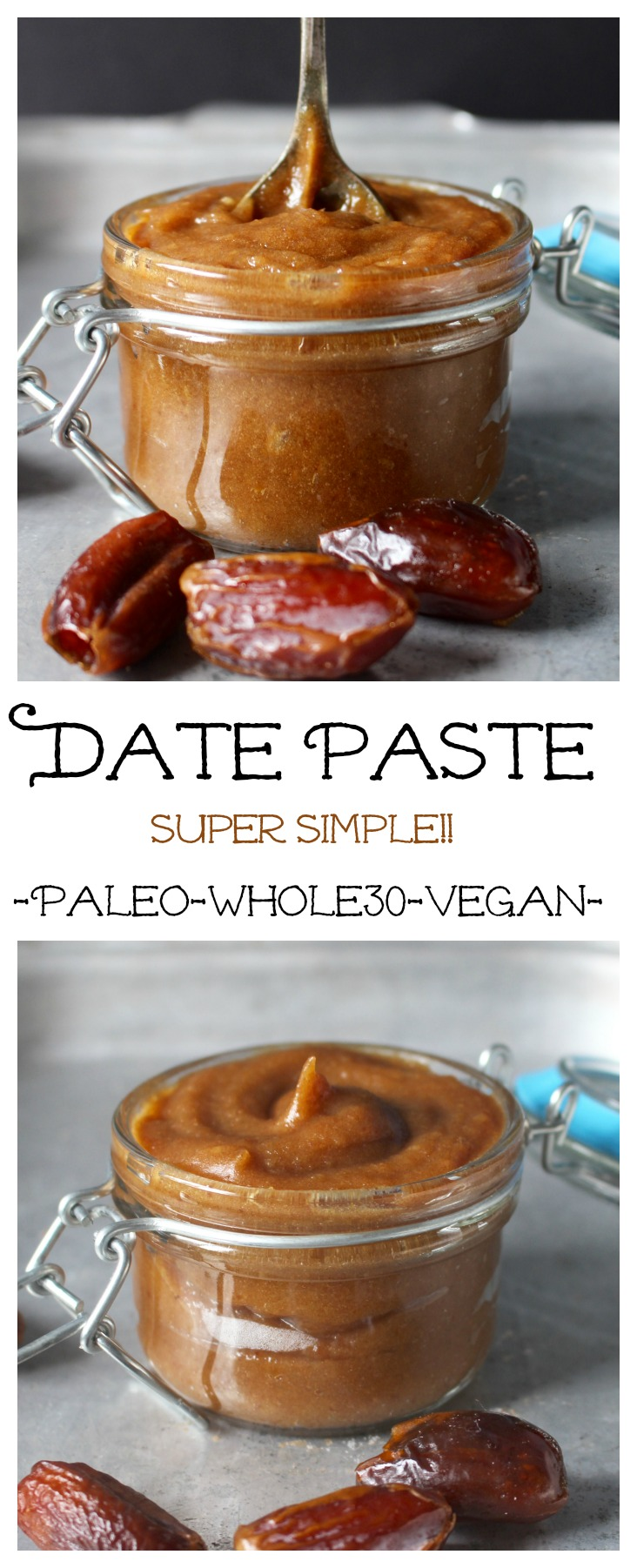 Date Paste (Paleo, Whole30, Vegan)