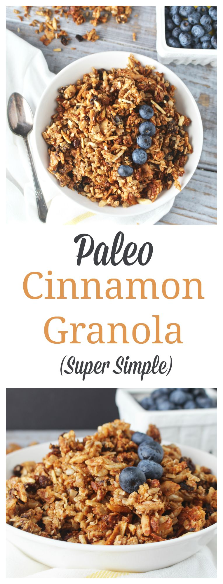 Paleo Cinnamon Granola