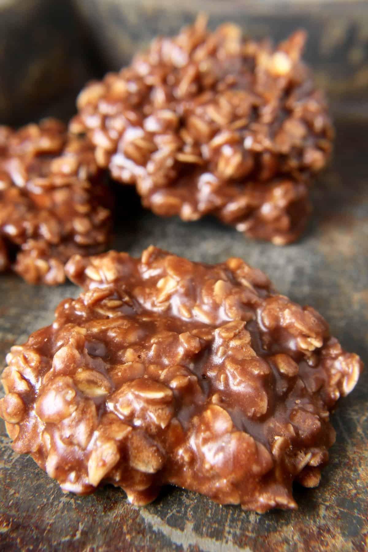 Coconut Oil No-Bake Cookies