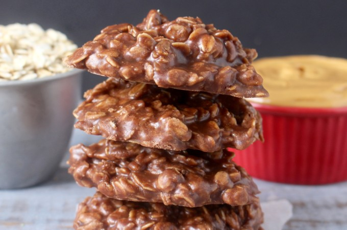 Coconut Oil No-Bake Cookies