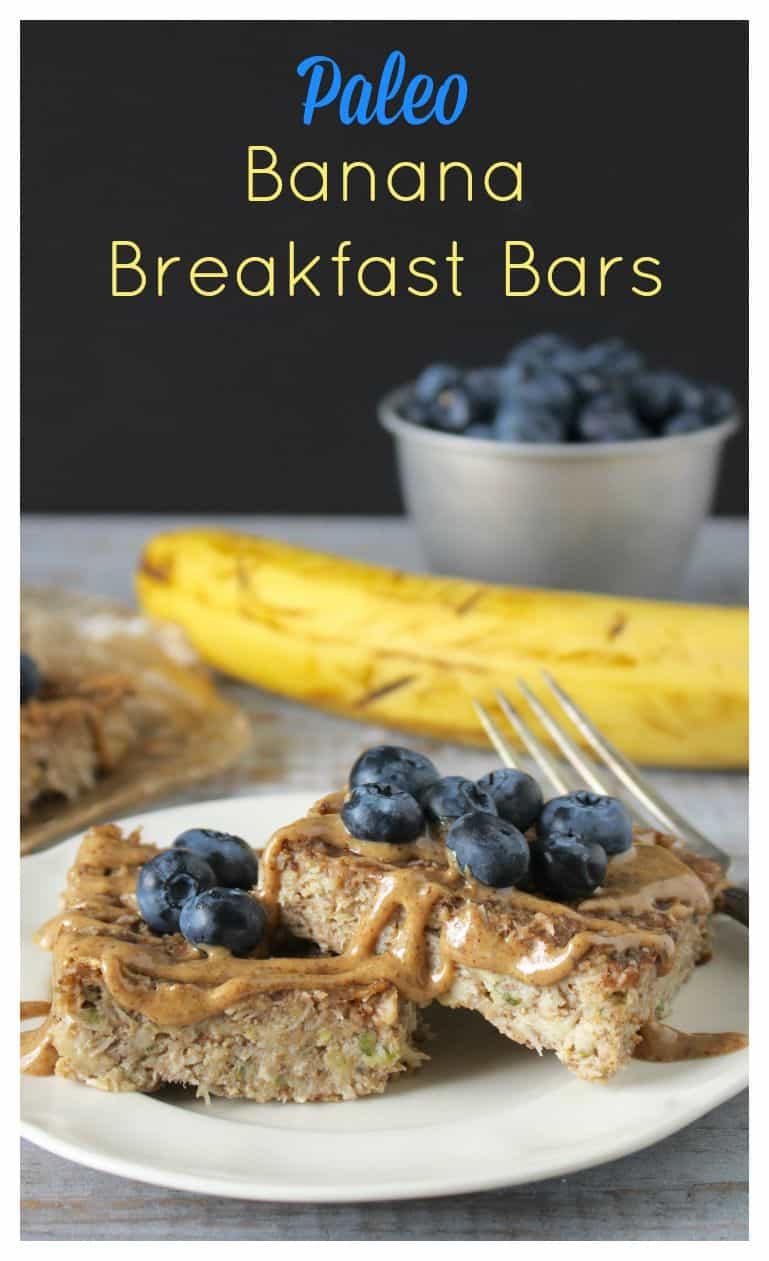 Paleo Banana Breakfast Bars