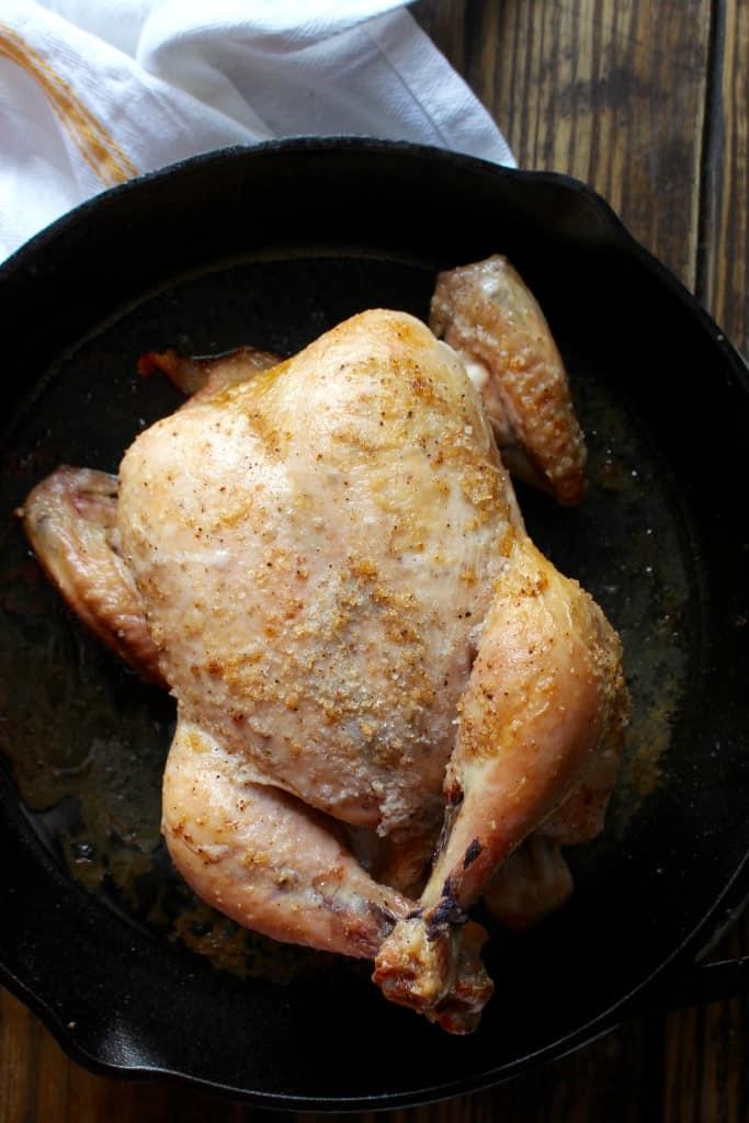 Test Kitchen Weeknight Roast Chicken