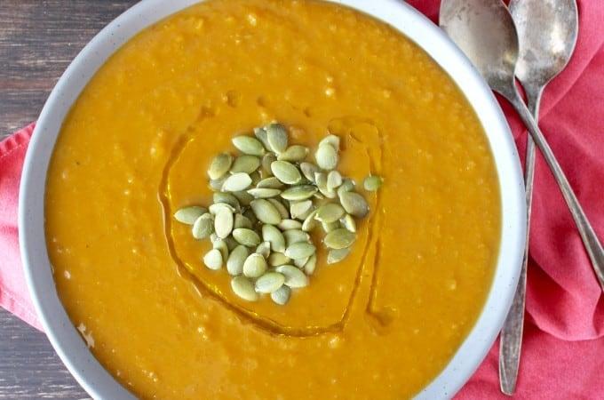 Paleo Squash Soup