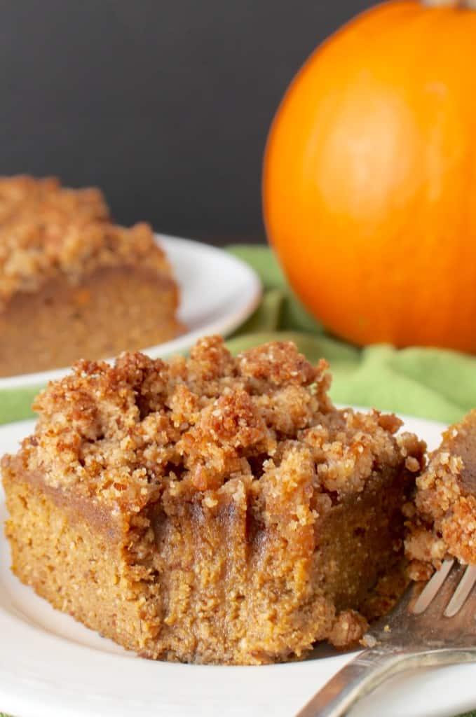 Jaysbakingmecrazy Paleo Pumpkin Coffee Cake