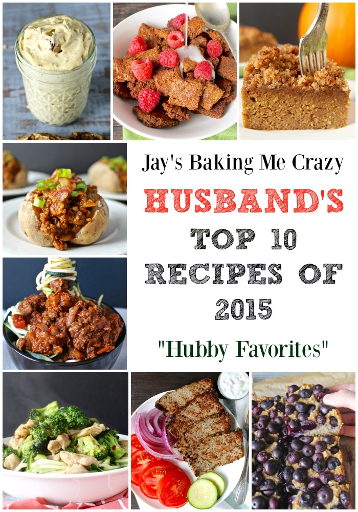 Husband's Favorite Recipes of 2015