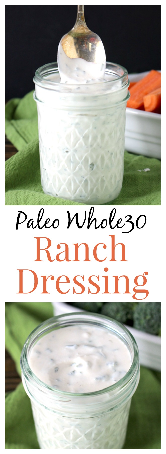 Paleo Whole30 Ranch