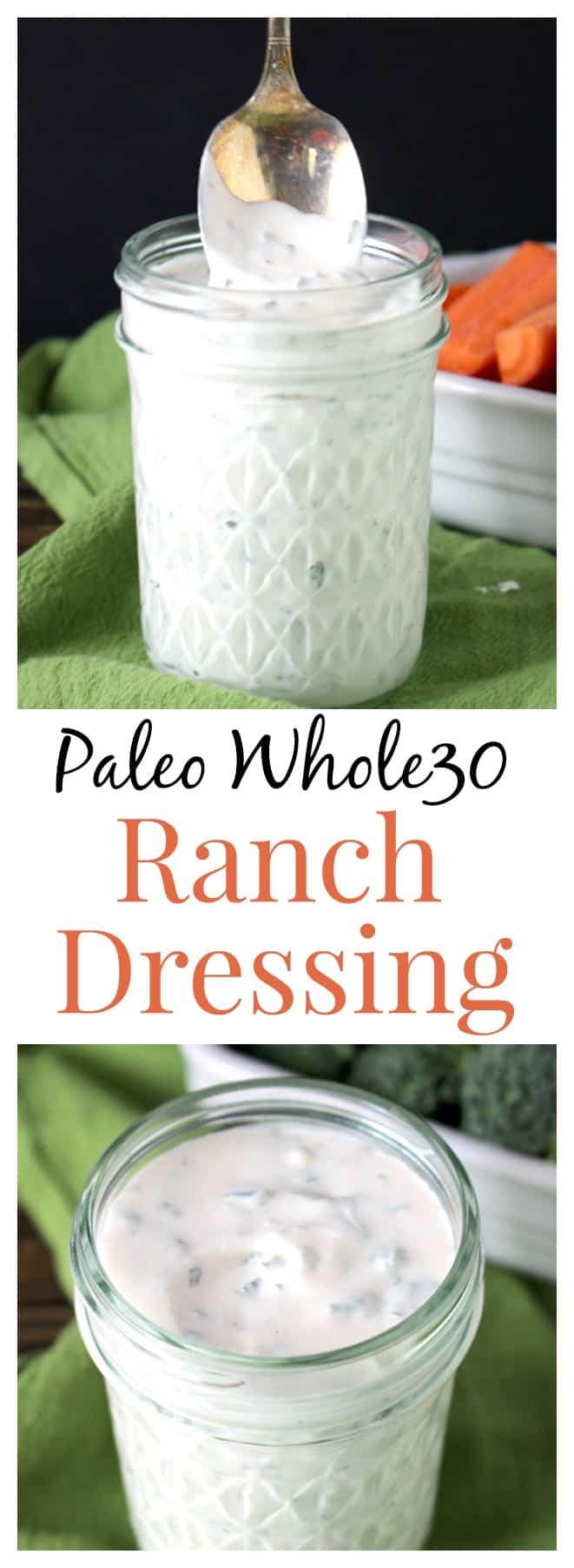 Paleo Whole30 Ranch