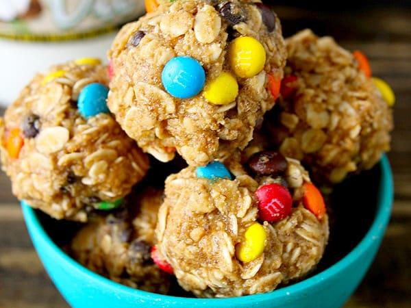 Peanut Butter Oatmeal Balls