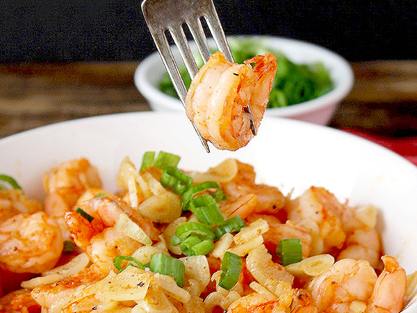 Garlicky Shrimp