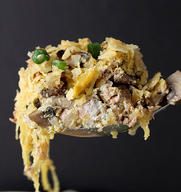 Paleo Tuna Noodle Casserole