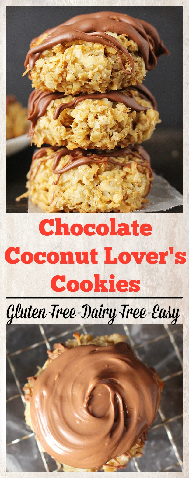 Chocolate Coconut Lover's Cookies