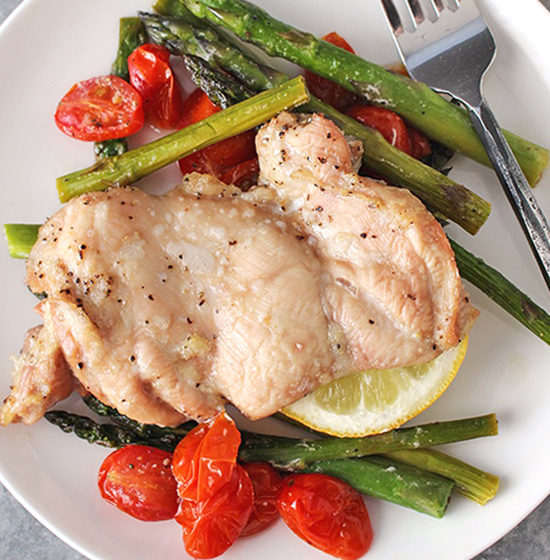 Paleo Whole30 Sheet Pan Chicken
