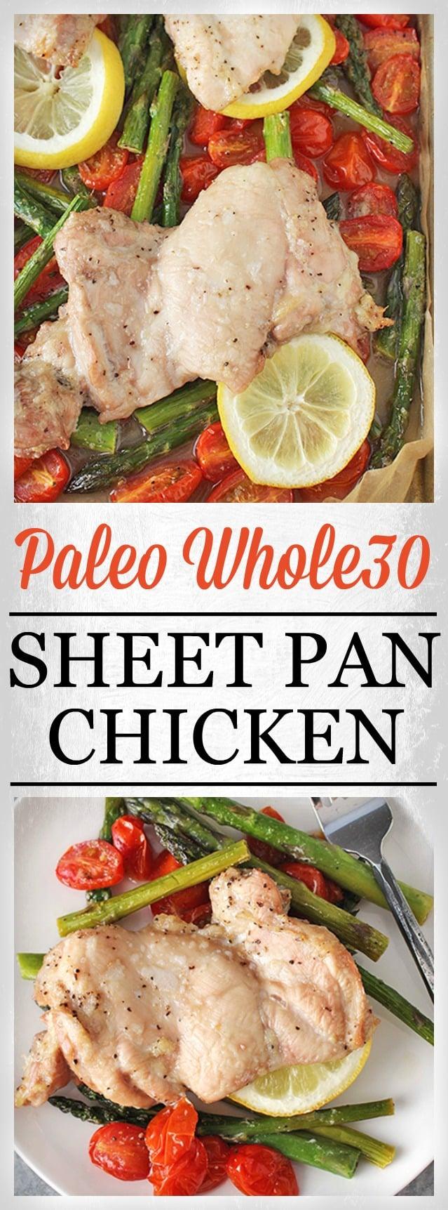 Paleo Whole30 Sheet Pan Dinner