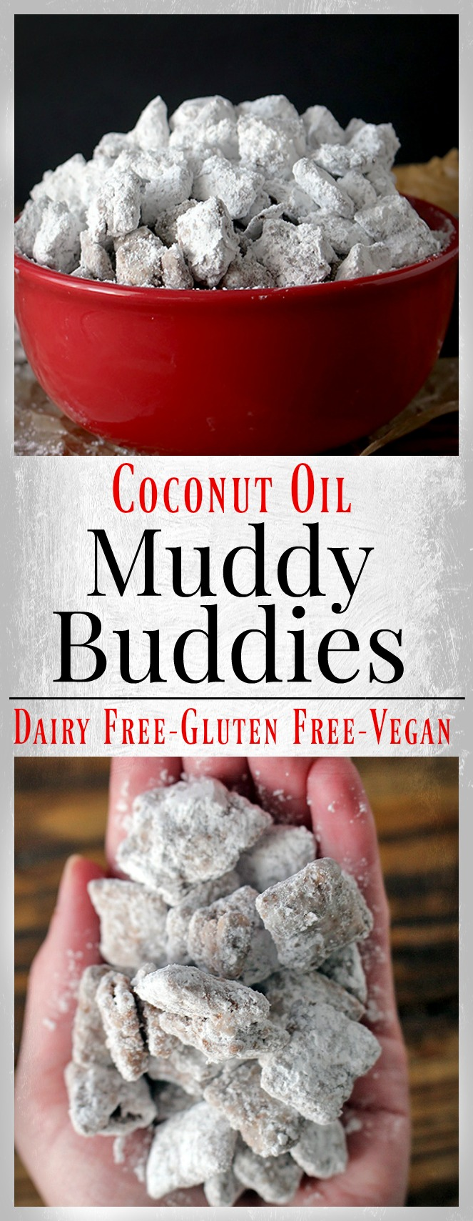Dairy Free Muddy Buddies