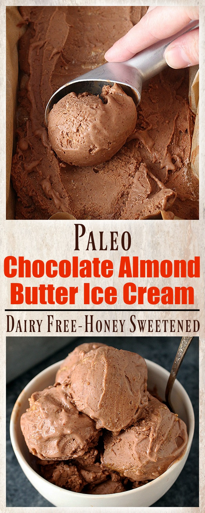 Paleo Chocolate Almond Butter Ice Cream - Jay's Baking Me Crazy