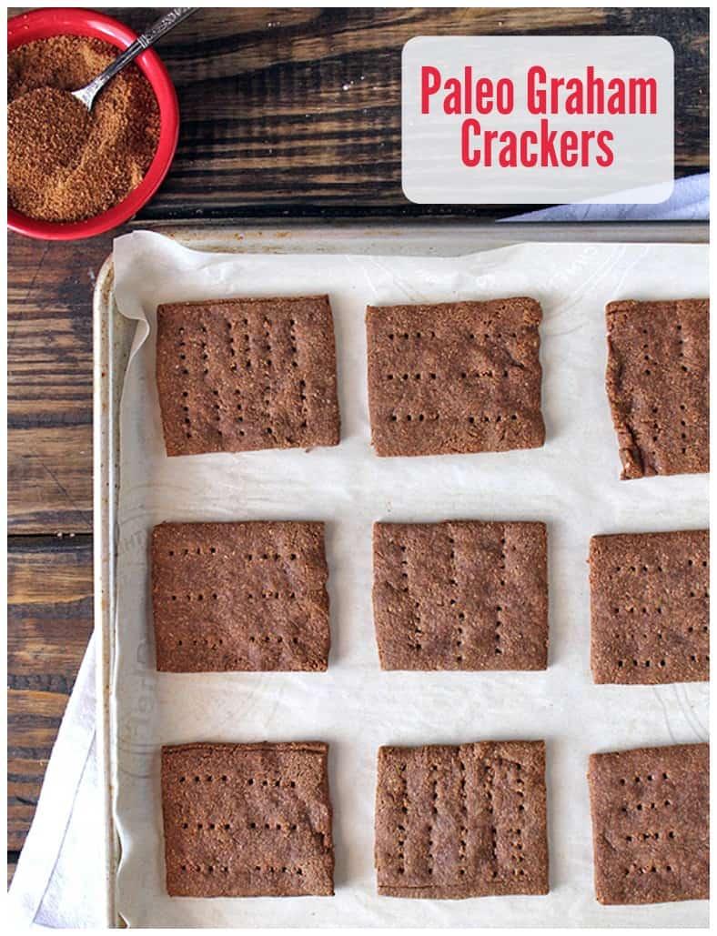 Paleo Graham Crackers