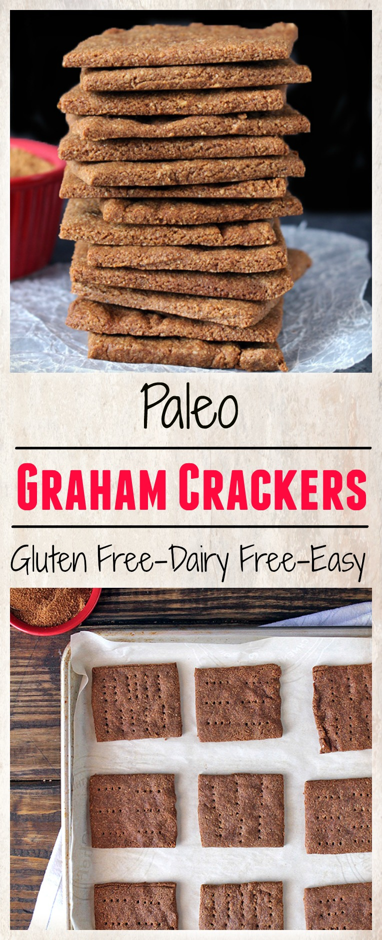 Paleo Graham Crackers
