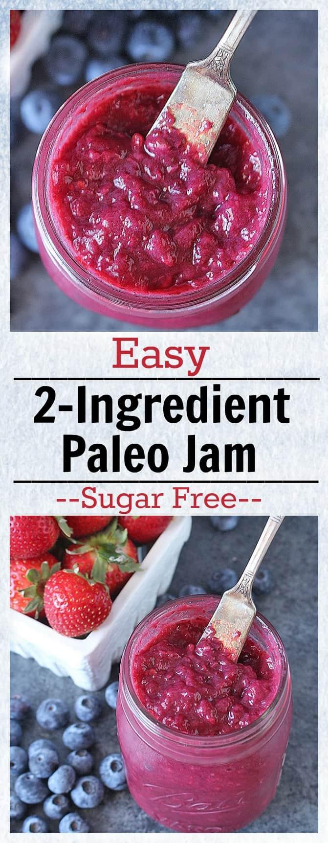 Easy 2 Ingredient Paleo Jam