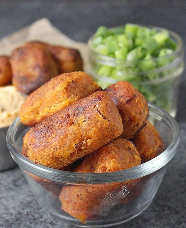 Paleo Sweet Potato Bacon Tots