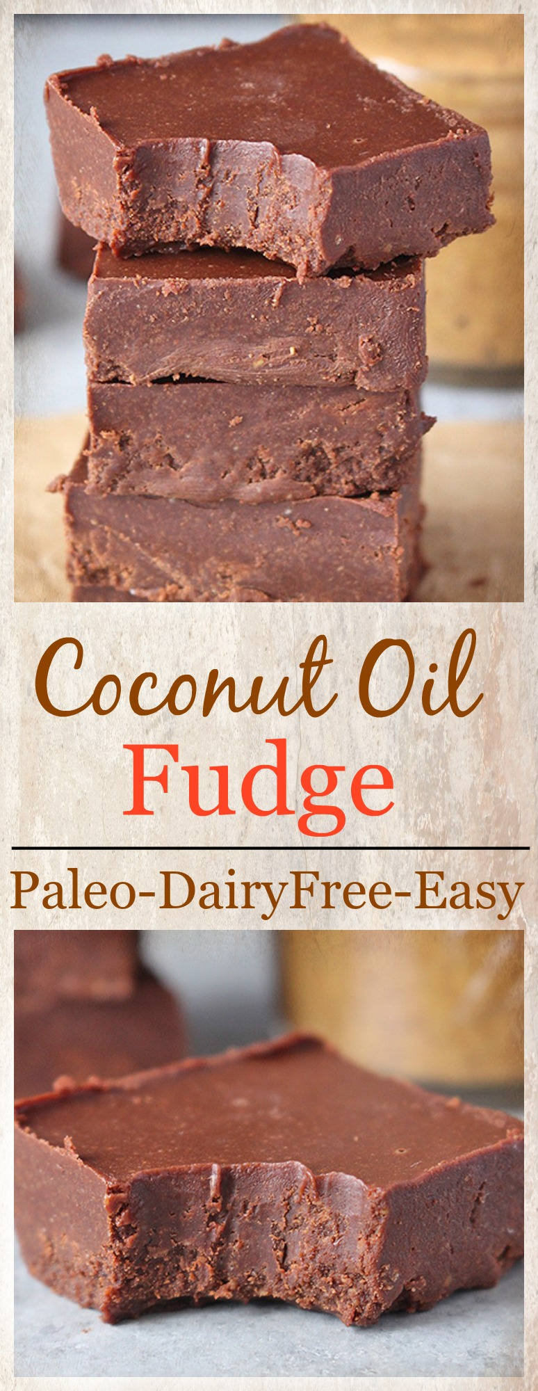 Paleo Coconut Oil Fudge