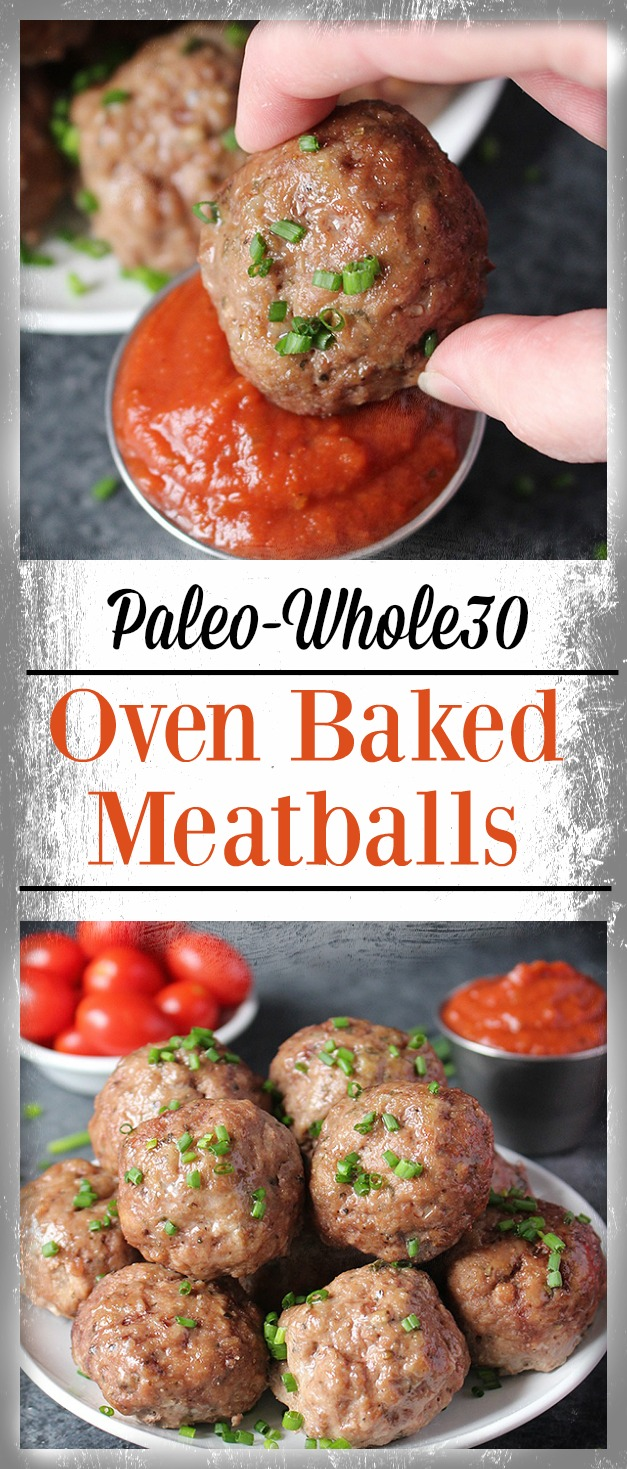easy oven baked paleo meatballs jay 39 s baking me crazy. Black Bedroom Furniture Sets. Home Design Ideas
