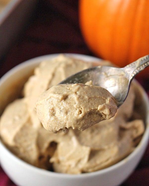 Paleo Pumpkin Ice Cream
