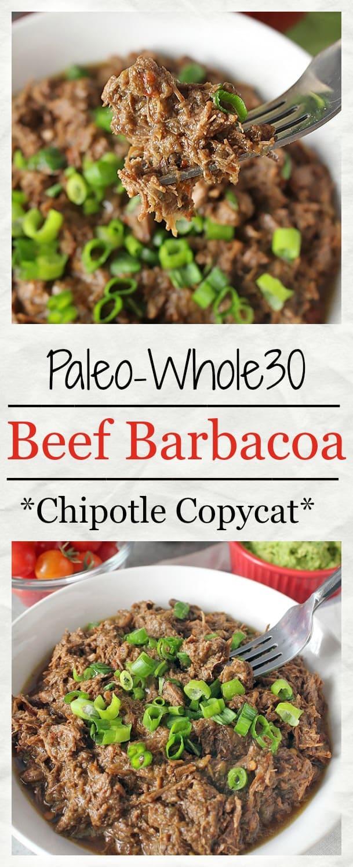 Paleo Beef Barbacoa (Chipotle Copycat)
