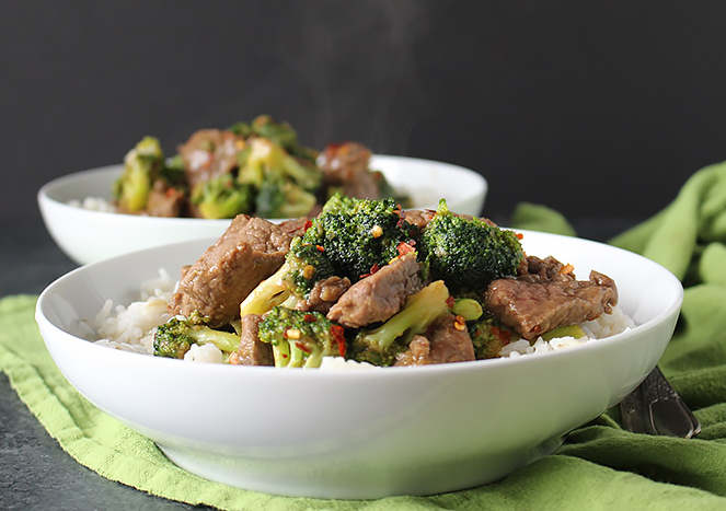 Paleo Whole30 Beef and Broccoli