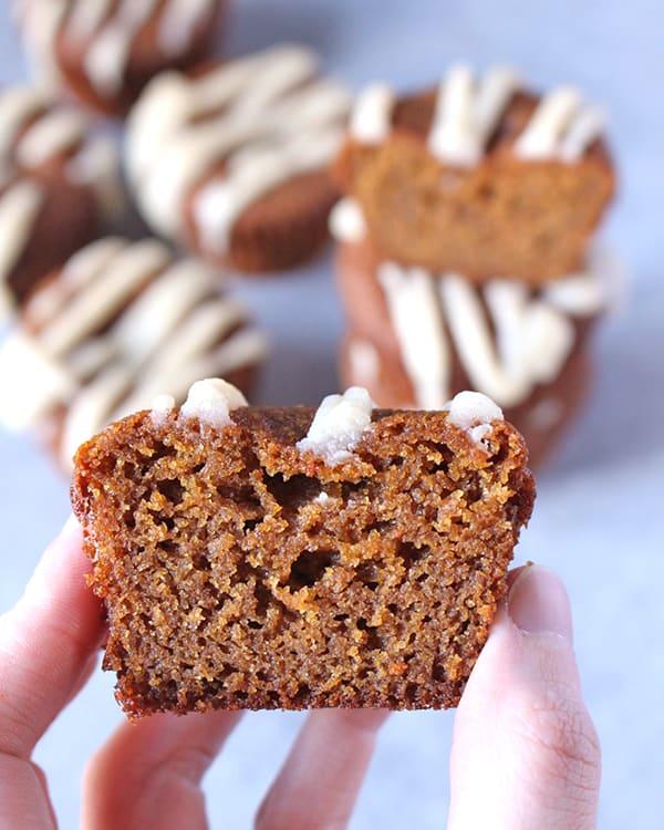 Paleo Gingerbread Muffins