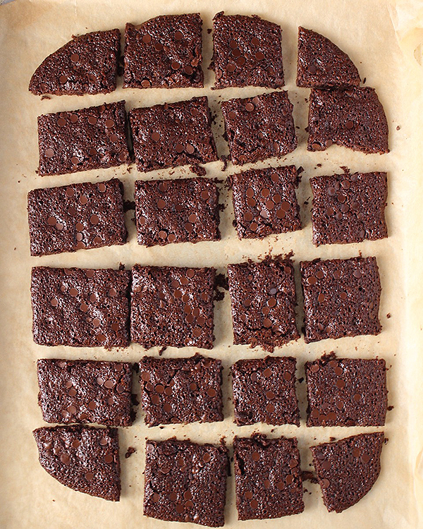 Easy Paleo Brownie Brittle Bark