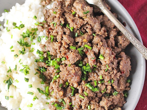 Easy Paleo Korean Beef Bowls