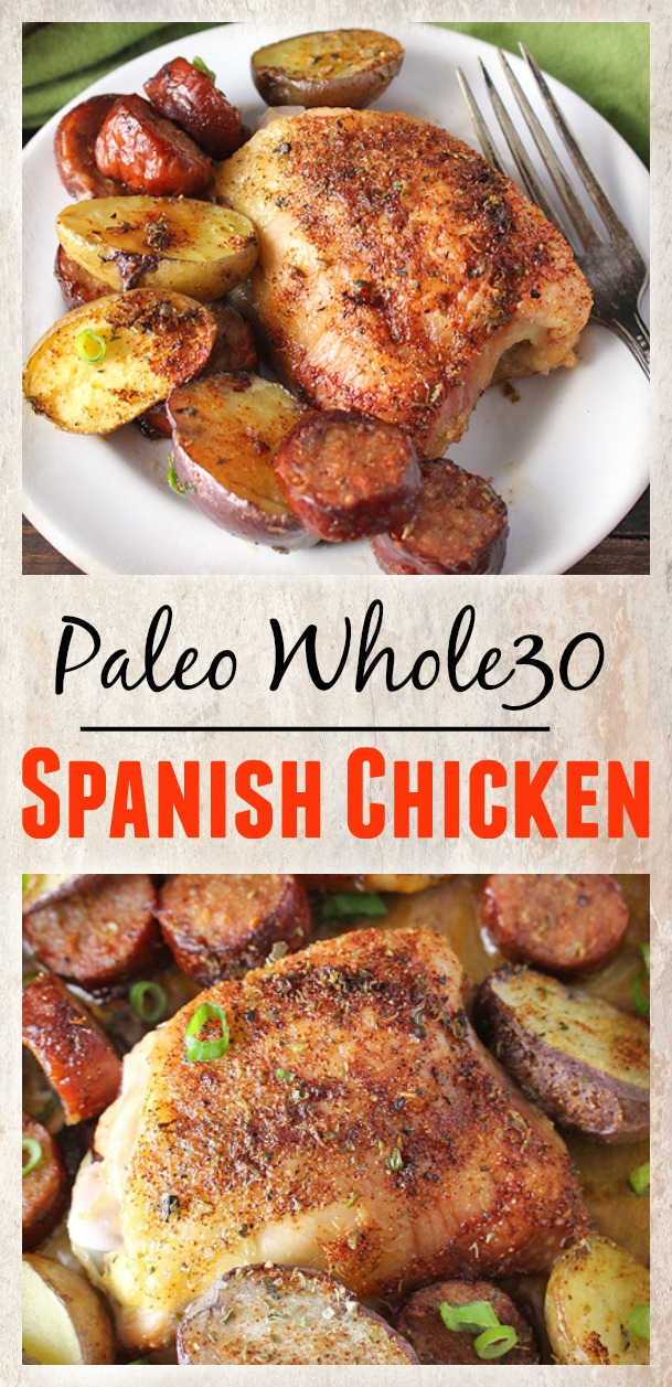 Paleo Whole30 Spanish Chicken