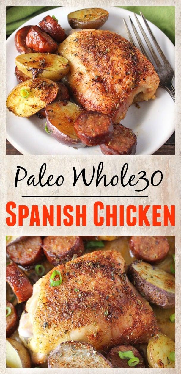 Paleo Whole30 Spanish Chicken