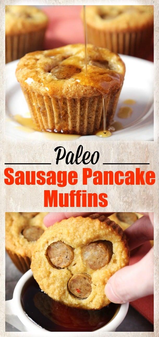 stick device pancake sausage muffins on a pancake sausage muffins on a ...