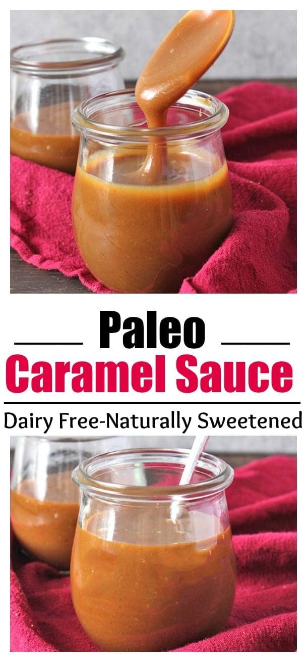 Paleo Homemade Caramel Sauce