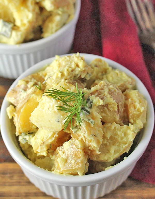 Paleo Whole30 Classic Potato Salad