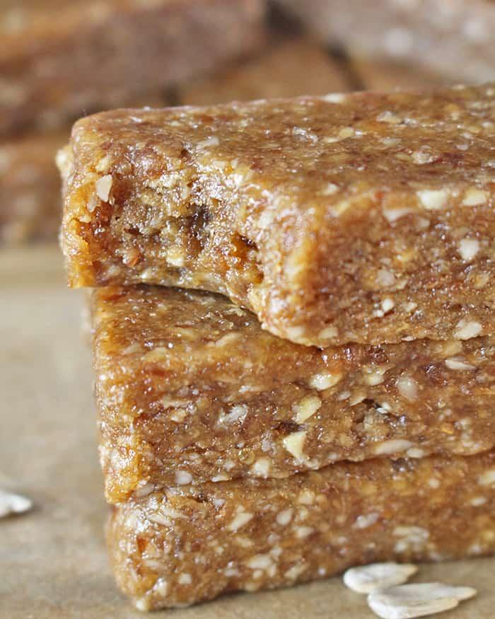 Paleo Sunbutter Protein Bars Copycat Peanut Butter RXBar