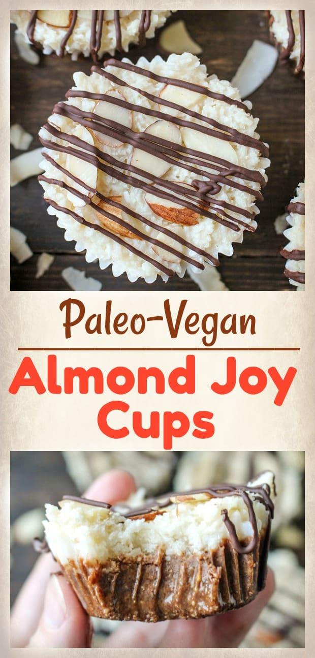 Paleo Homemade Almond Joy Cups