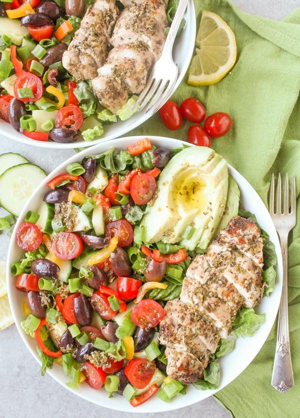 Paleo Whole30 Greek Chicken Salad